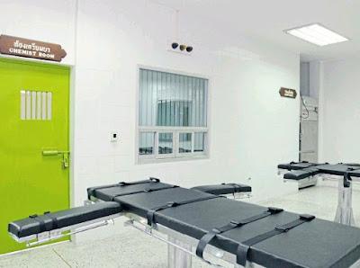 Thailand's death chamber