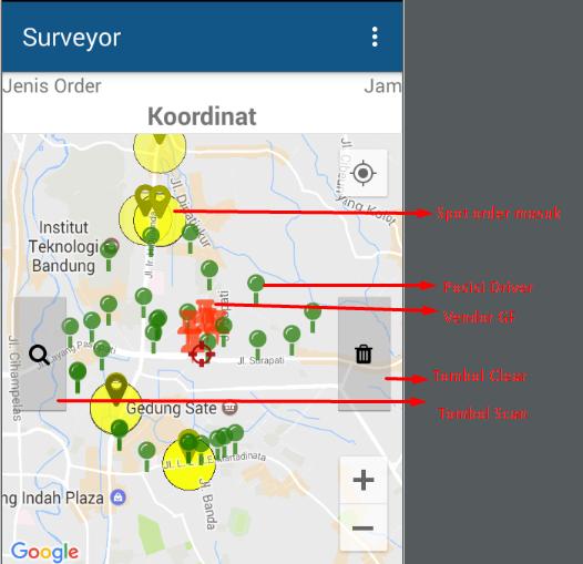 Surveyor V 8 Mod Gojek Dan Mod Grab