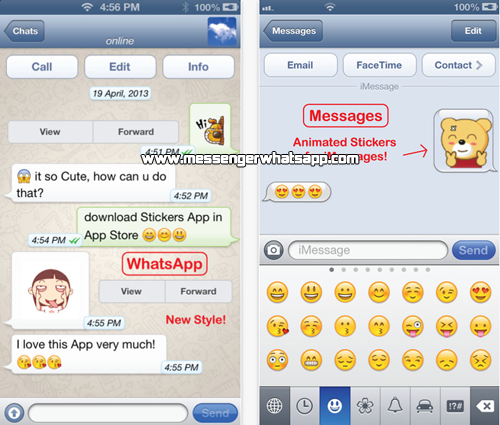 Envia nuevos emoticones con Stickers Free for WhatsApp
