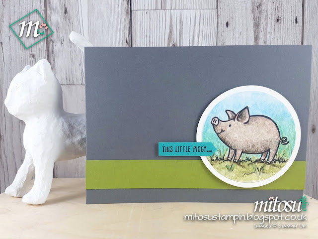 This Little Piggy Stampin Up SU Jay Soriano Mitosu Crafts Order Stampinup UK Online Shop 2