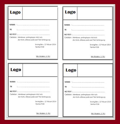 Aplikasi Cetak Kartu Ujian Sekolah/Madrasah Siap Cetak