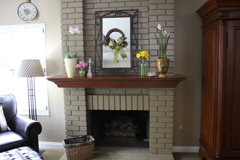 BALANCED STYLE: Fireplace Makeover on a Dime