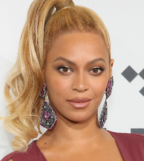 beyonce oval shaped face