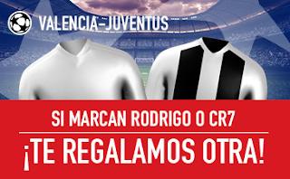 sportium Promo Valencia vs Juve 19 septiembre
