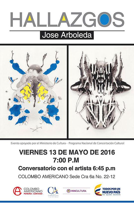 Hallazgos. Exposición de José Arboleda