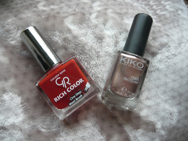 Golden Rose Rich Color 84 & Kiko 303