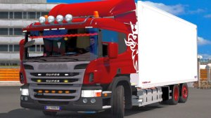 Scania P360 truck mod 1.5