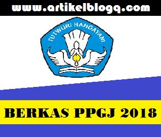 gambar berkas peserta ppgj 2018