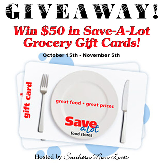 Giveaway: Win $50 in Save-A-Lot Grocery Gift Cards!