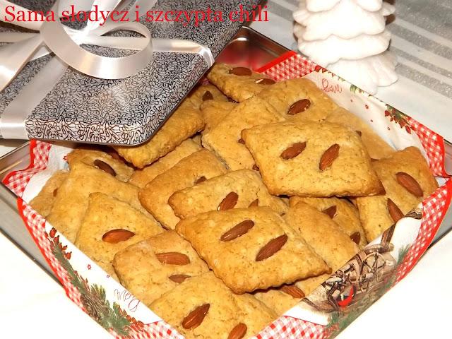Spreewaldzkie ciastka migdałowe .