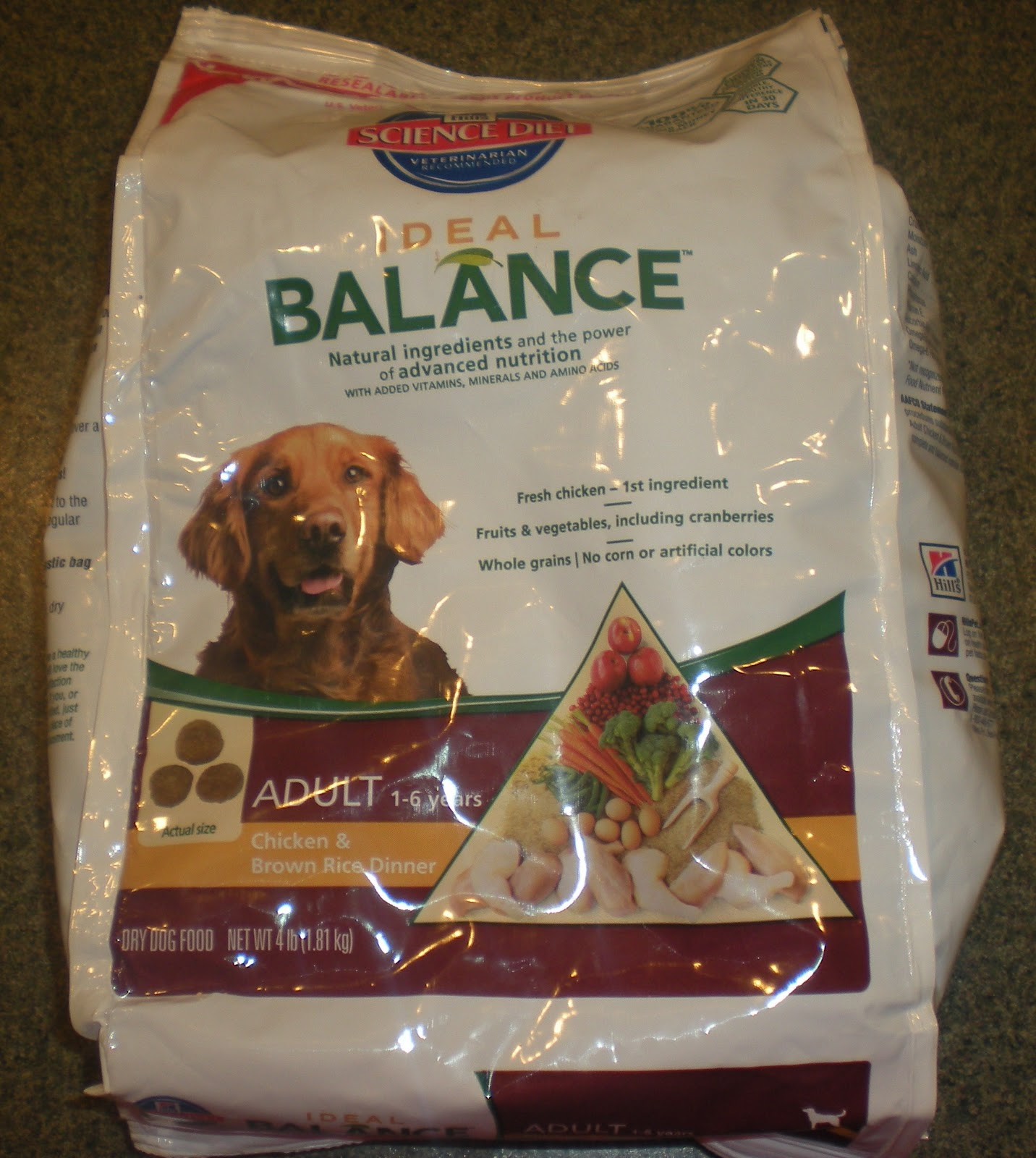 Ideal Balance Dog Food >> Js Reviews And Giveaways Bzzagent Hill S Science Diet