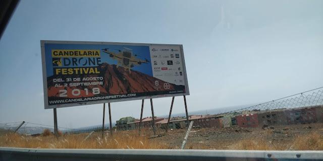 Resumen del Candelaria Drone Festival 2018, 3a edición, un evento para el disfrute de todo el mundo