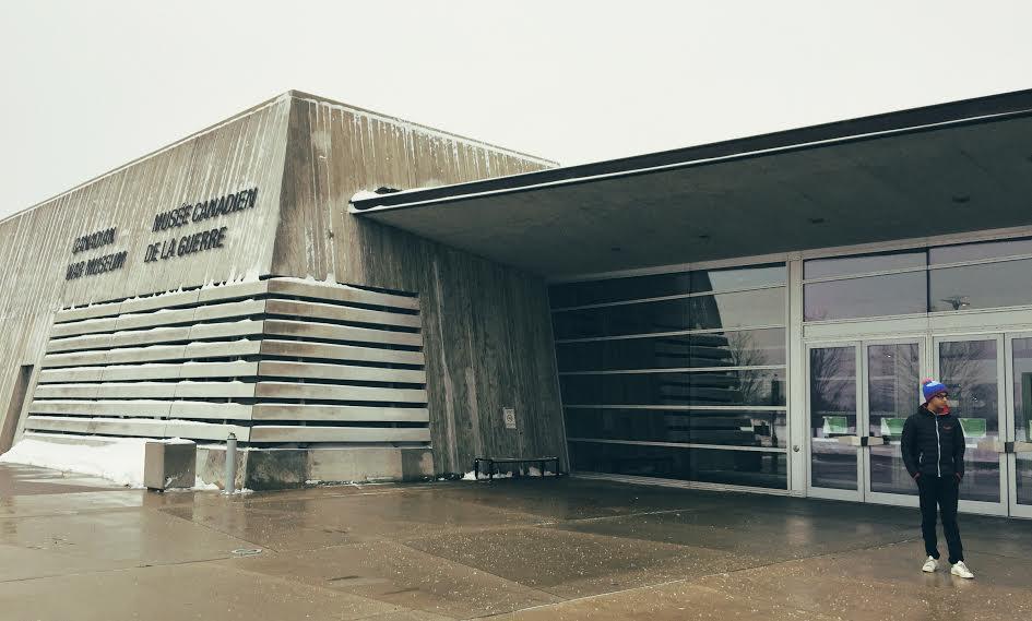 Musée canadien de la guerre à Ottawa
