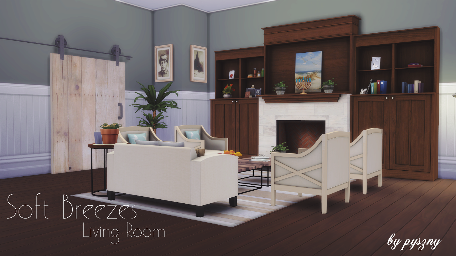 First Set For The Sims 4