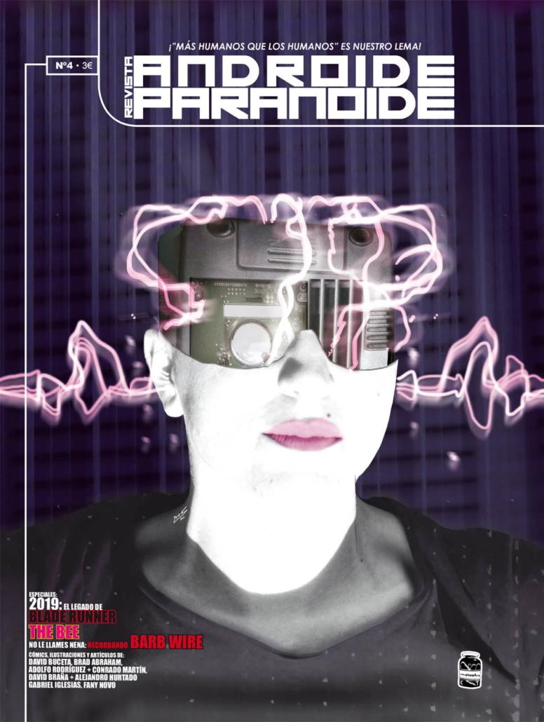 Portada del cuarto número de Androide Paranoide