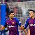 Barça goleia com 'triplete' de Suárez e um de Coutinho e afunda Real na crise