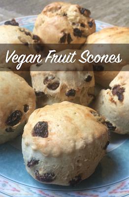 Vegan Fruit Scones