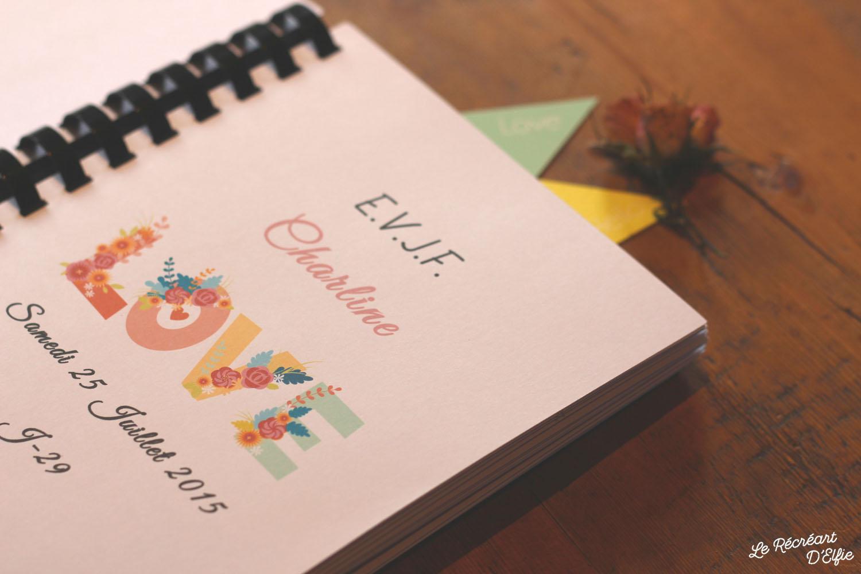 le r cr art delfie evjf carnet souvenirs pour un enterrement de vie de jeune fille. Black Bedroom Furniture Sets. Home Design Ideas