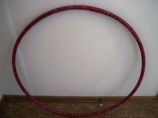 Hula Hoop Decorated With Balloons
