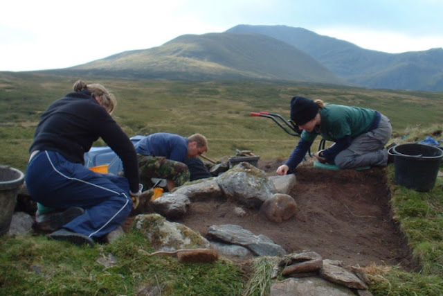 Scotland's Perthshire hills were inhabited in the Stone Age