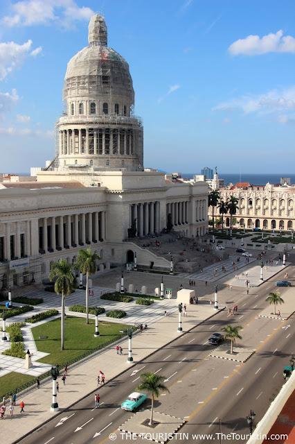 Capitolio national vieja havana cuba the touristin