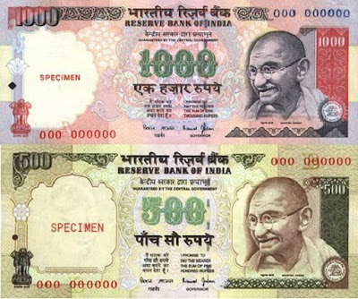 How NRI can exchange Rs 500/1000 Notes Outside India