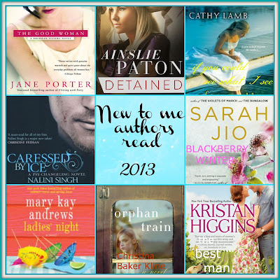 collage of new to me authors