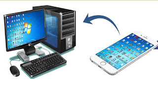Remote access from smart phone, remote access from mobile