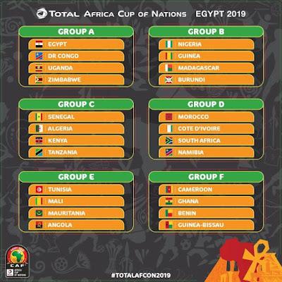 DROO YA AFCON 2019: TANZANIA KUKUTANA NA KENYA, ALGERIA NA SENEGAL