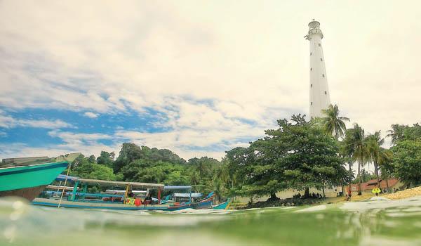 Keindahan Pulau Lengkuas