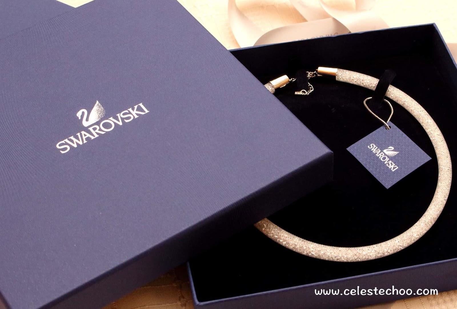 75dc56d80fc8 CelesteChoo.com  Swarovski Stardust Fashion Necklace