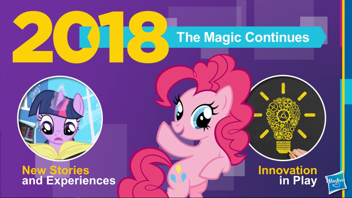 Equestria Daily MLP Stuff My Little Pony Continues With Season 8 In 2018