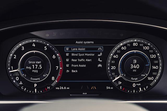 Novo VW Tiguan 2018 -  cluster de instrumentos digital