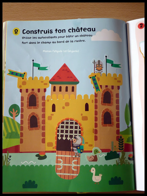 chateaux forts usborne