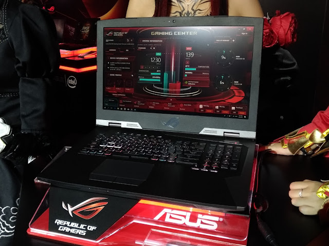 asus rog g703 i9 coffee lake