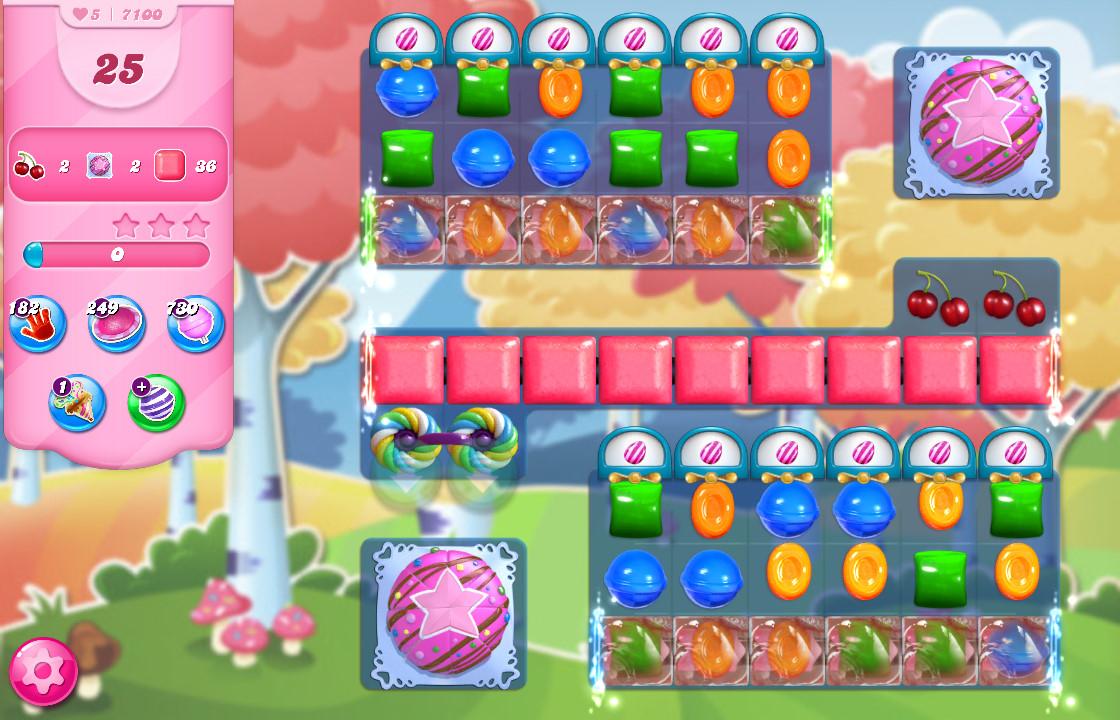 Candy Crush Saga level 7100