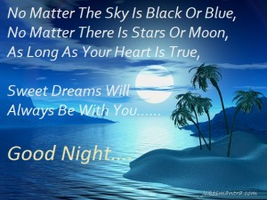 Friend Good Night Quotes In Urdu