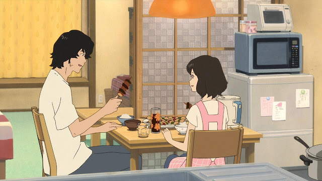 Imagem anime Wolf Children