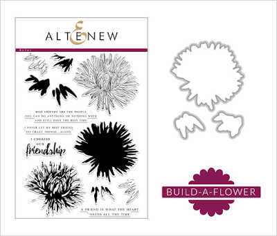Altenew Build-A-Flower: Aster