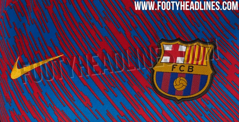 42341a951 Magasin Nike FC Barcelona 2018 Pre-Match Shirt Leaked - Footy Headlines