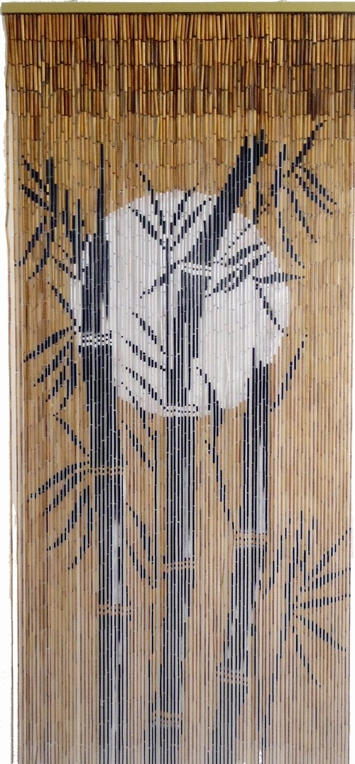 Bamboo Door Curtains Bamboo Craft Photo