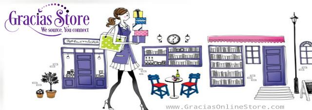 beli makeup organiser online, barangan wanita online, gracias store