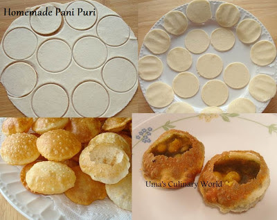 Homemade Pani Puri