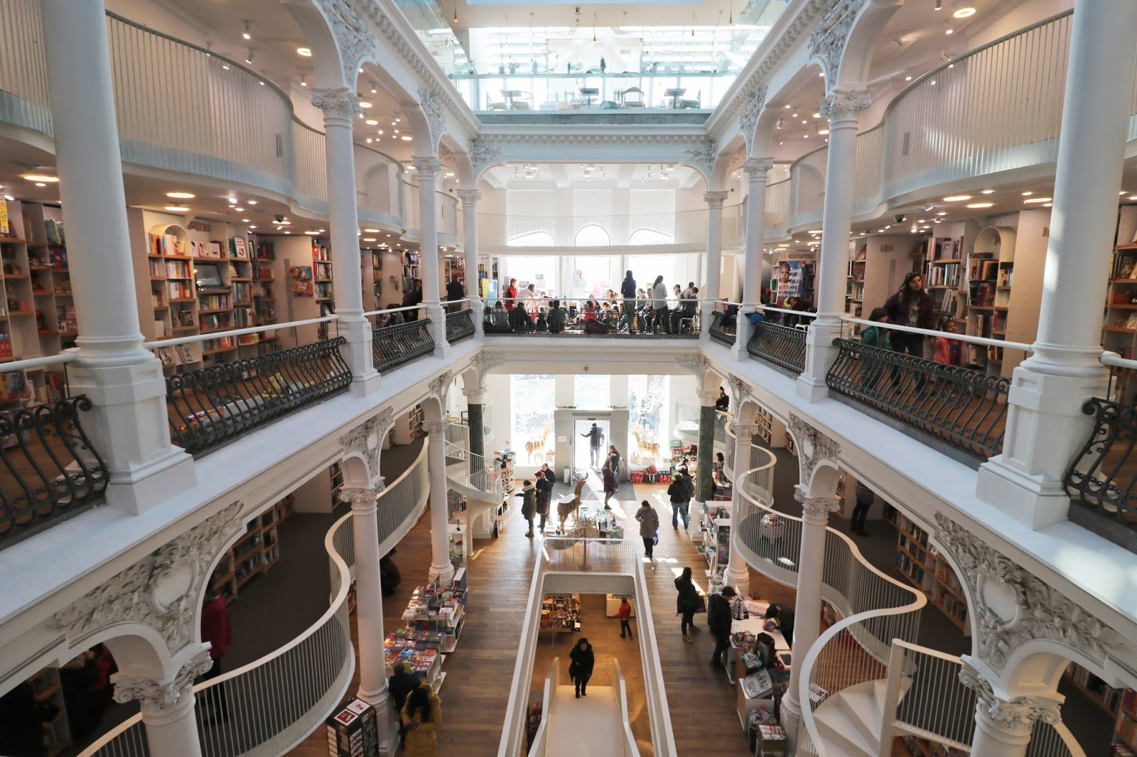 księgarnia bukareszt, bookstore bucharest