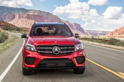 New 2016 Mercedes GLS 400 4MATIC front look SUV HD