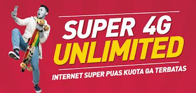 Cara Daftar Paket Super 4G Unlimited Smartfren 60ribu
