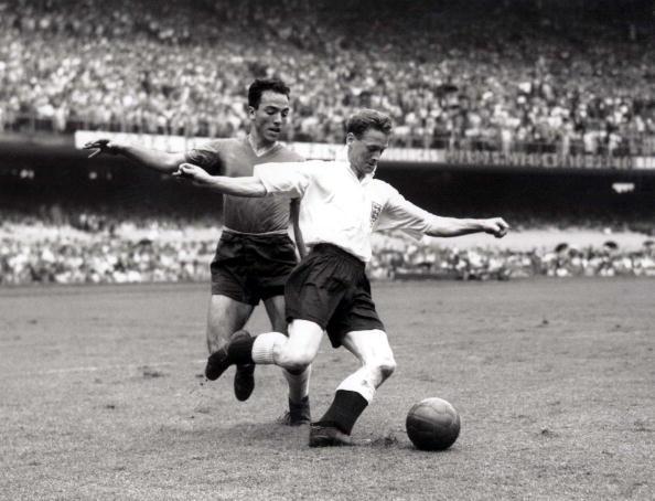 Inglaterra y Chile en Copa del Mundo Brasil 1950, 25 de junio