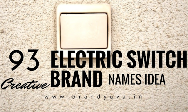 electric switch brand names idea