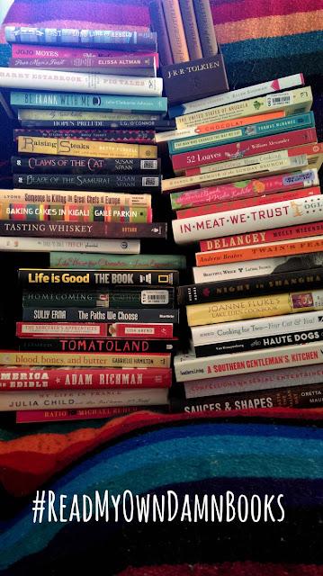 This Year I'm Going to #ReadMyOwnDamnBooks | My Challenge Log