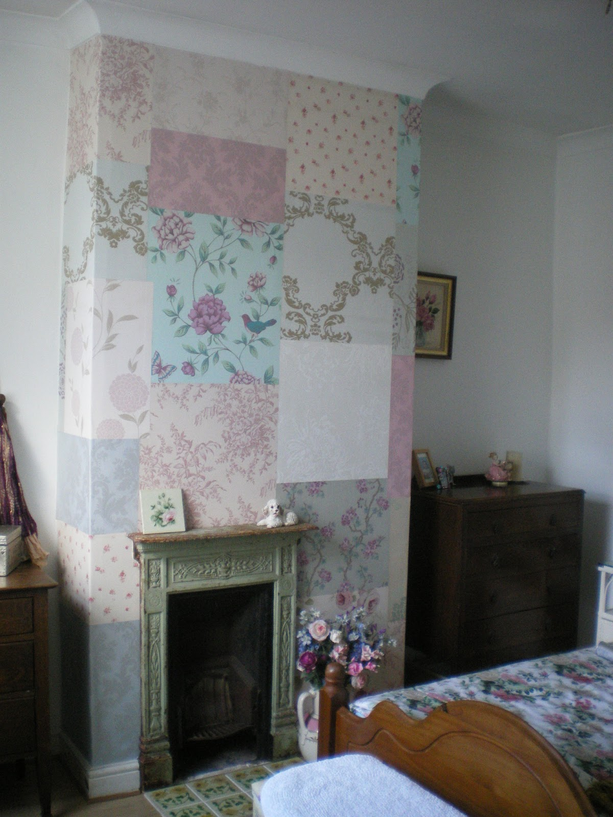 trololo blogg: Wallpaper Alcoves Or Chimney Breast
